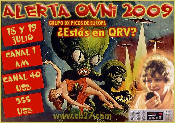 Activación Alerta OVNI 2009