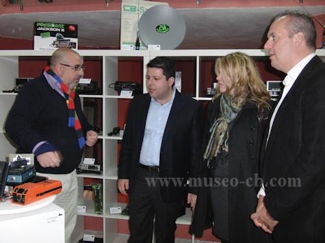 Ministro Principal de Gibraltar visitó el Museo de la Banda Ciudadana