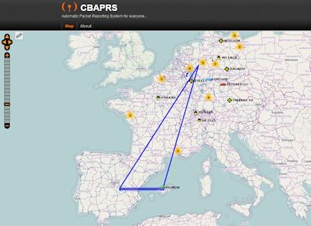mapas APRS