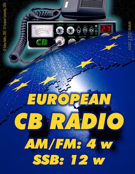Norma común europea para la CB27