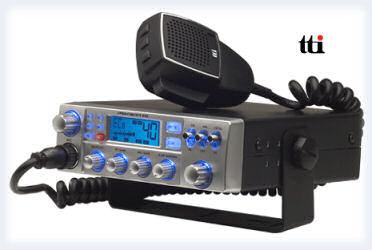 Aparato transceptor de Banda Ciudadana en 27 MHz.