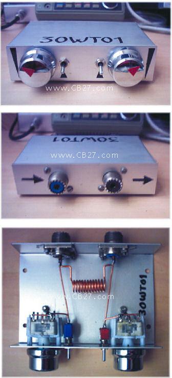 Acoplador 27 MHz de José Luis (30WT01)