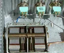 Detalle del condensador variable