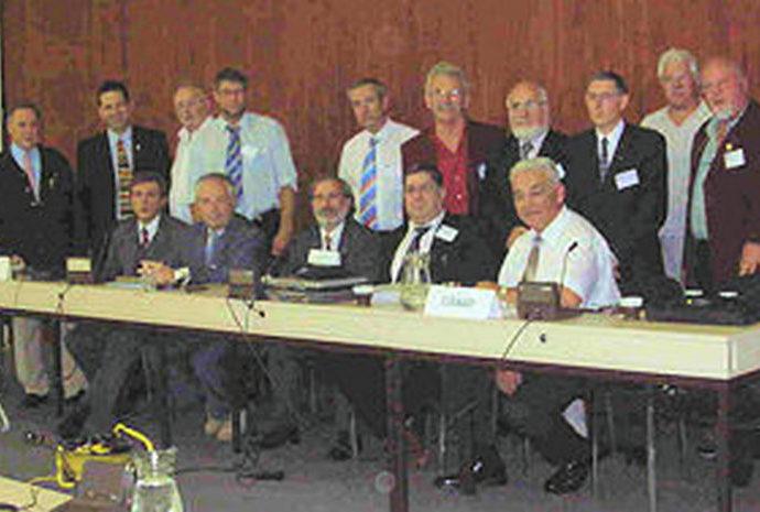 Congreso ECBF Bruselas. Oct. 2006
