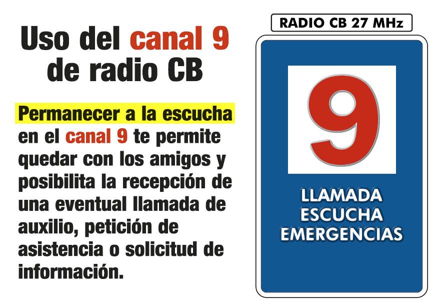 Llamada y seguridad: El objetivo es hacer del canal 9 una herramienta útil.