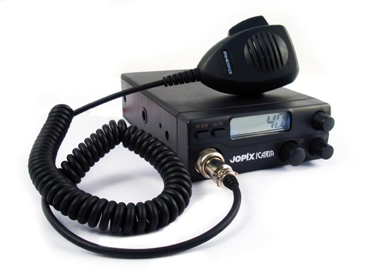 También es posible la comunicación en CB27 sólo con AM (Foto cortesía Pihernz)