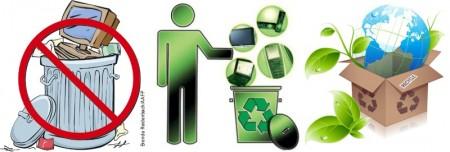 Reciclaje de chatarra electrónica