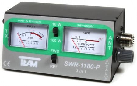Medidor de ROE con dos instrumentos de medida (foto cortesía 9Neuner)