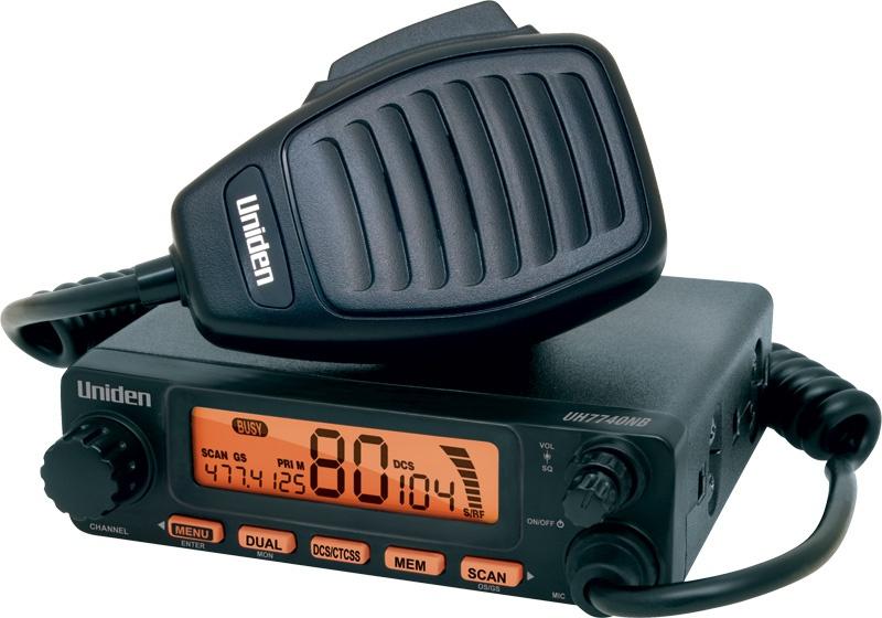 Radio UNIDEN para Banda Ciudadana en UHF
