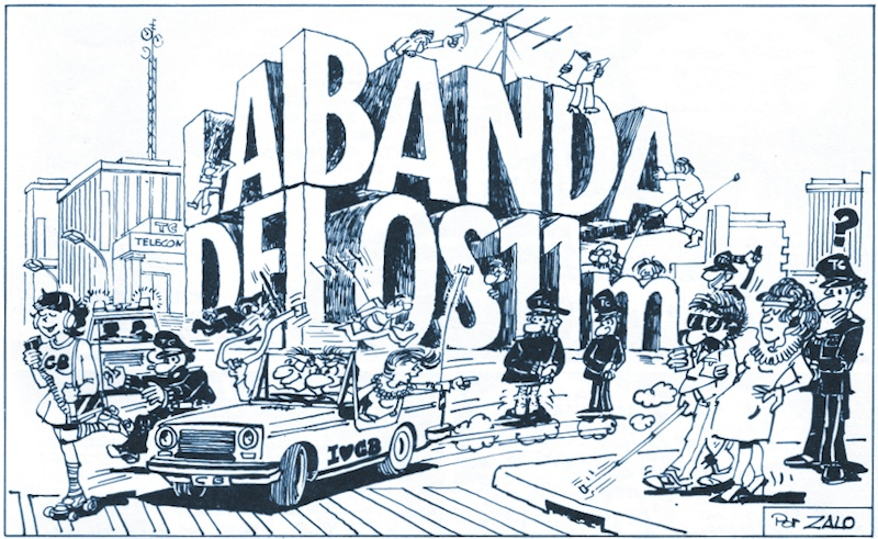 La Banda de los 11 metros, por Zalo (1983)