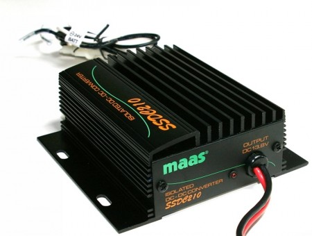 Convertidor de voltaje (foto cortesía Maas Elektronik - Locura Digital)