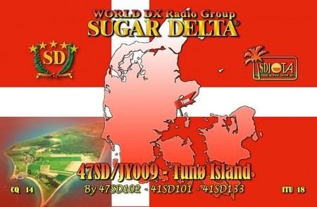 47SD en la Isla Tunoe, con referencia IOTA JY009