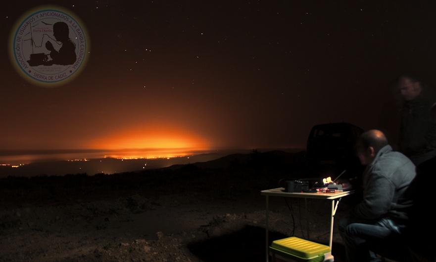 Otra actividad nocturna en 27 MHz de la Asociación CB Sierra de Cádiz