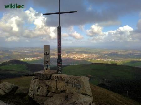 Vista panorámica desde el pico Dobra (foto: Wikiloc)