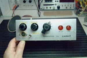 Emisor  de 27 Mc. Karkit de 3 W. en AM