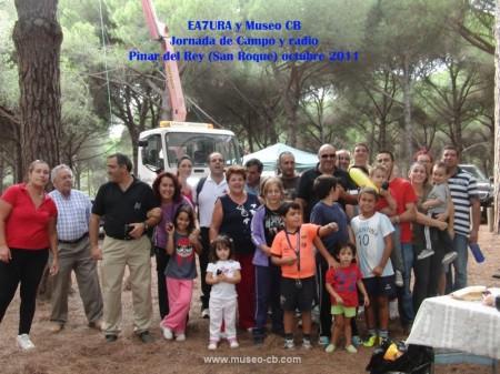 Una imagen de la Jornada de Campo y Radio de 2011