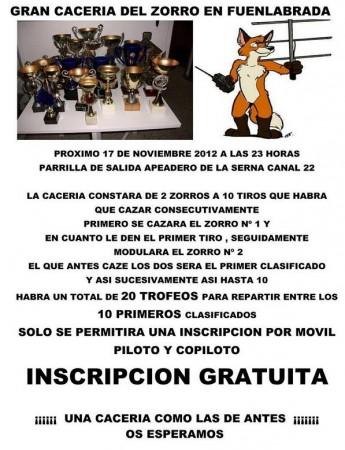 Gran Cacería del Zorro en Fuenlabrada (Madrid)