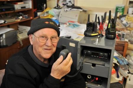 Arthur Driver, 30 años como secretario de la Citizens' Band Radio Association of New Zealand