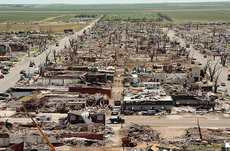 Los tornados producen daños devastadores en cierta zonas del planeta.