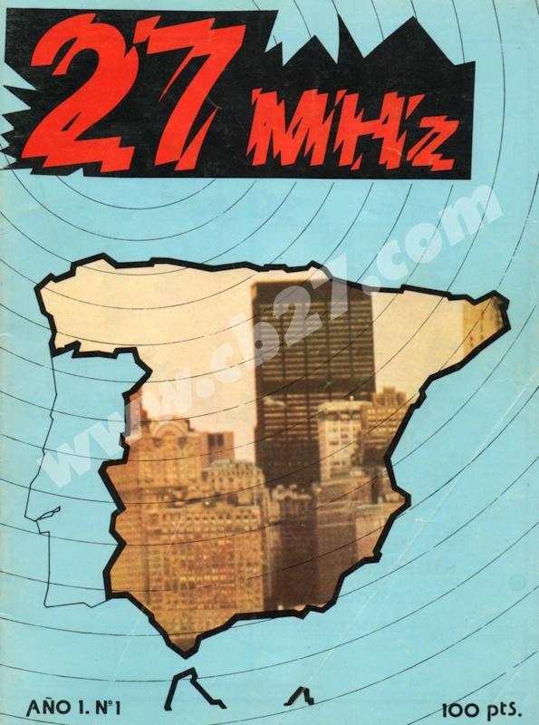 Portada del nº 1 de la revista 27 MHz