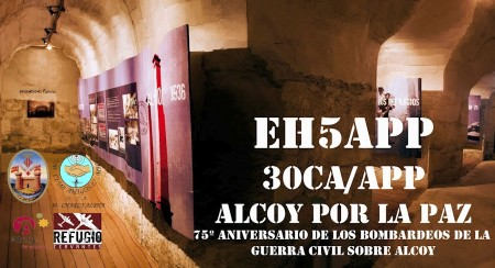 30CA/APP 75 aniversario de los bombardeos sobre Alcoy