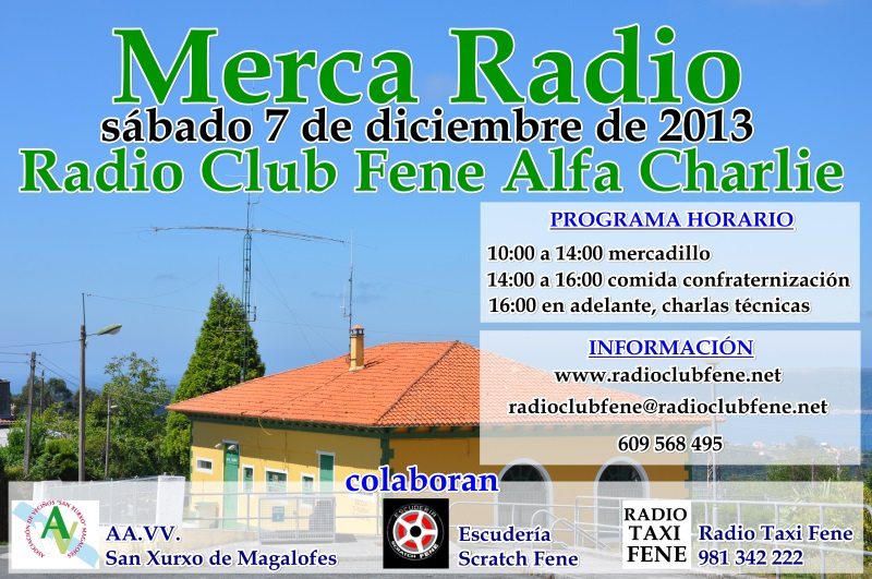 Merca Radio 2013 de Radio Club Fene