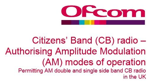 Reino Unido legaliza los modos AM y SSB en los canales CB CEPT