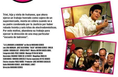 Lina Morgan, de cebeísta, en Le llamaban la madrina, de Mario Ozores