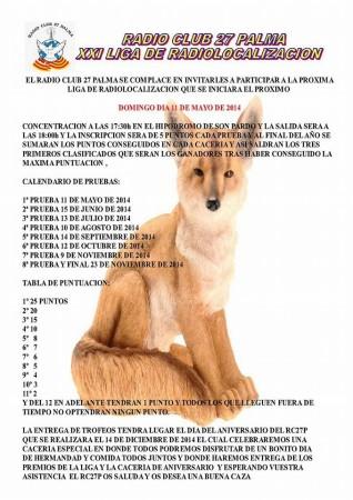 XXI Liga de Radiolocalización RC27P