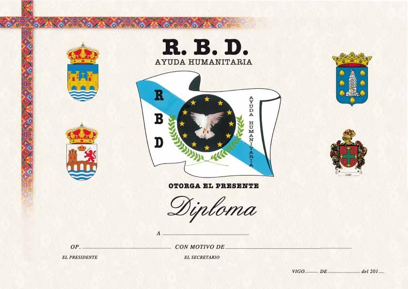 Diploma RBD Ayuda Humanitaria