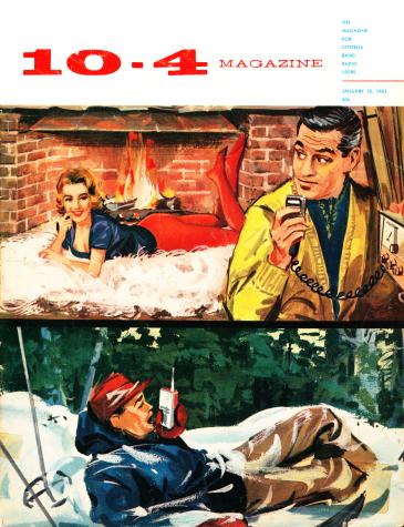 Portada de la revista 10-4, enero de 1962