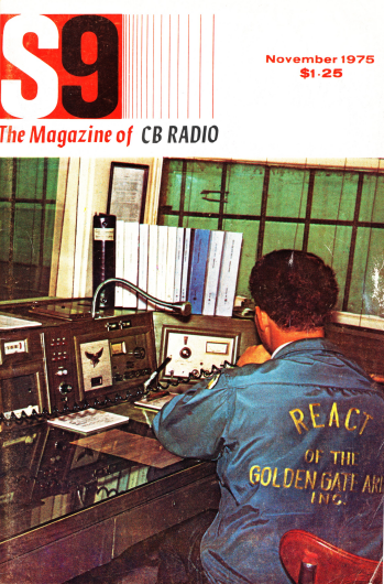 Portada de la revista S9, noviembre de 1975
