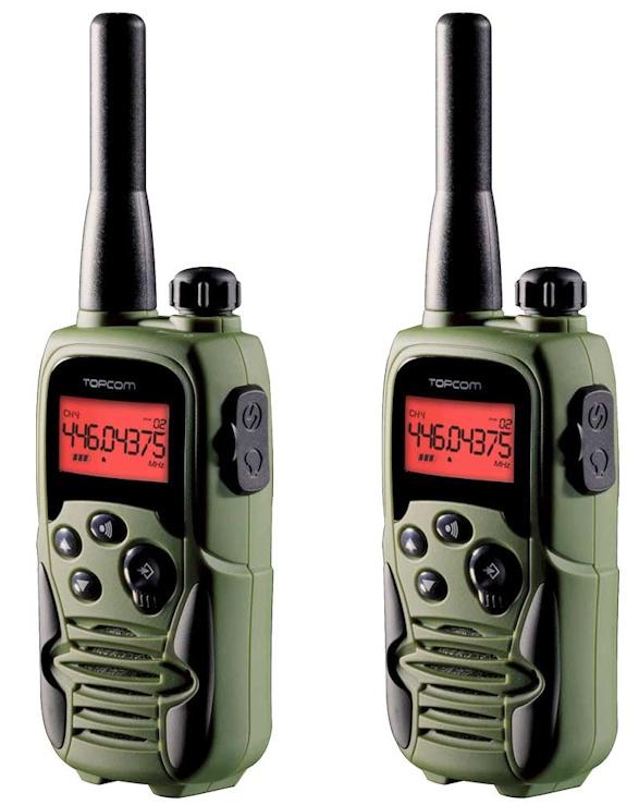 Pareja de walkies para el servicio PMR446 europeo.