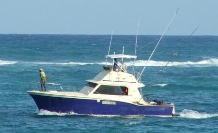 Muchas embarcaciones de pesca y recreo siguen teniendo a bordo una radio de CB.