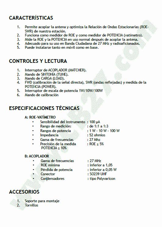 Manual TM-100, página 3