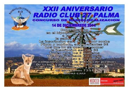 XXII Aniversario Radioclub 27 Palma