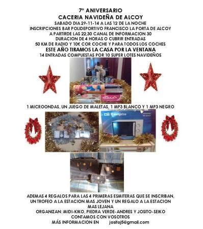 Caza navideña de Alcoy, 7º Aniversario