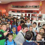 Alumnos del CEIP Taraguilla de San Roque, de vista en Museo CB