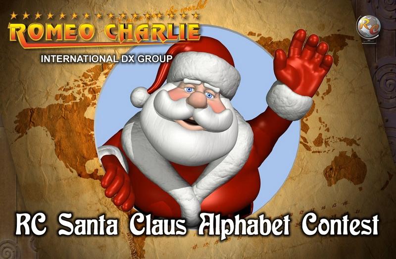 El grupo dx romeo charlie organiza un concurso especial de - Un santa claus especial ...
