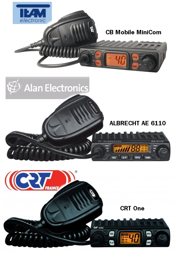 Radios ultracompactas para la Banda Ciuddana