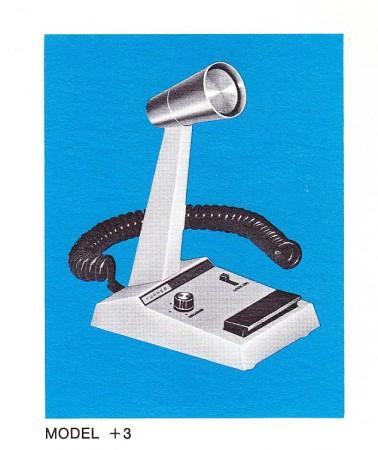 Micrófono Turner 3+