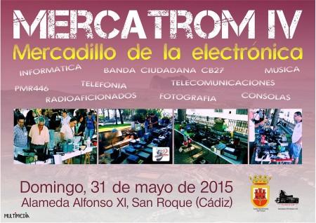 Cartel anunciador de la edición de 2015 de Mercatrom