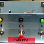 Módulo de emisión para radiobaliza.