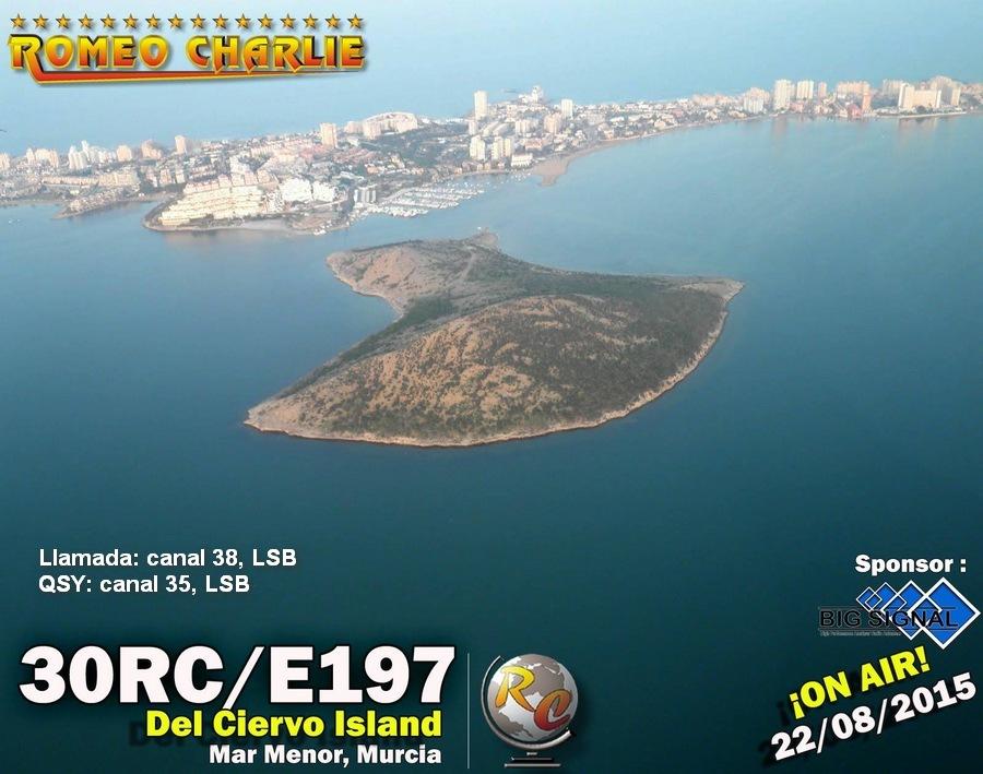 30RC-E197, desde el Mar Menor