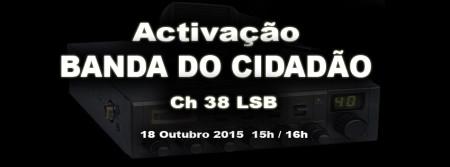 Cebeístas portugueses intentan animar la CB en su país.