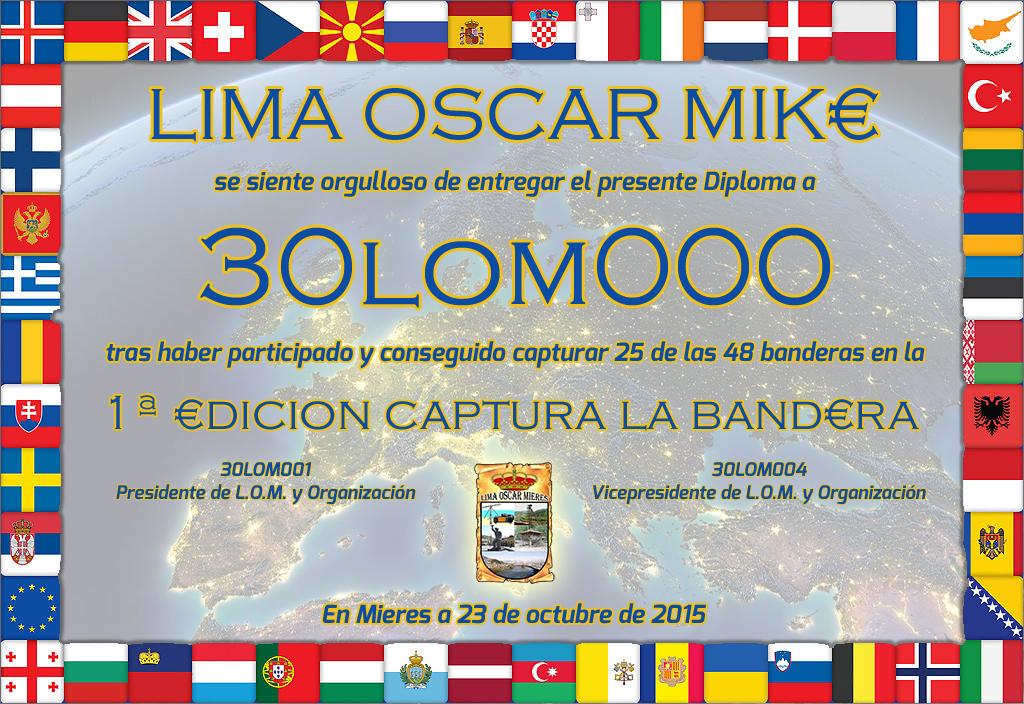 Captura la Bandera es una iniciativa de Lima Oscar Mike