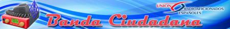 Cabecera del sitio web que URE dedica a la CB