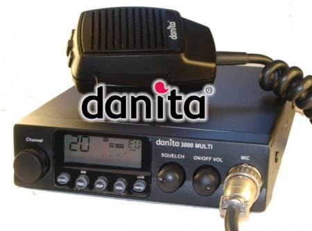 Uno de los transceptores de CB27 de la marca Danita.