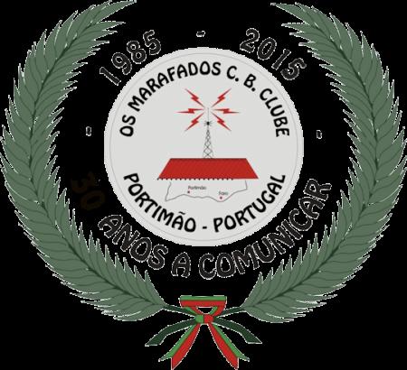 Os Marafados CB Clube (Portugal) cumple 30 años.