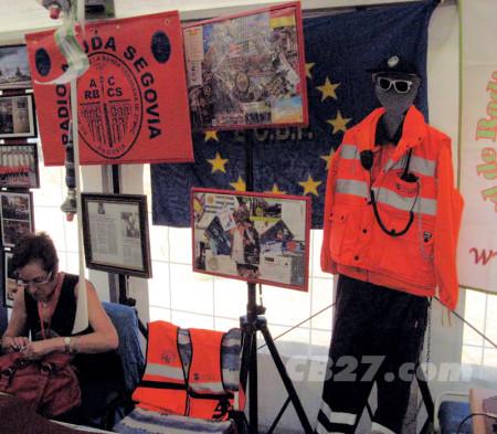 En España, Radio Ayuda Segovia es uno de los pocos colectivos de CB comprometidos con el voluntariado civil y la radioasistencia.